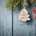 Фон с елками - Background with Christmas trees