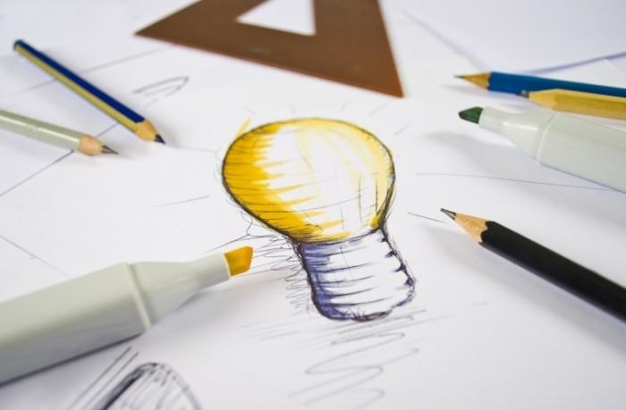 Fotolia 38131080 Subscription L 700x459 Лампа на чертеже   Lamp in the drawing