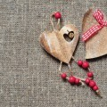 Деревянные сердечки - Wooden hearts