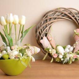 Декор с тюльпанами - Decor with tulips