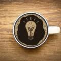 Кофе с лампой - Coffee with lamp