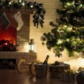 Интерьер с камином - Interior with fireplace