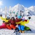 Семья на лыжном курорте - Family ski resort