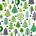 Фон из елочек - Background of Christmas trees