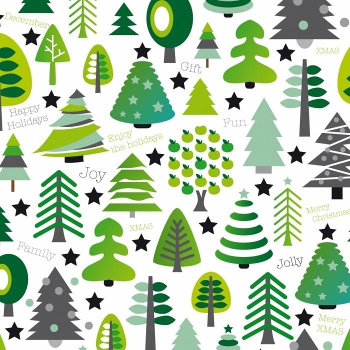 Maaike Boot Online christmas pattern kaartje2go shutterstock 700x700 Фон из елочек   Background of Christmas trees
