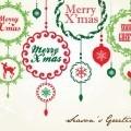 Открытка счастливого рождества - Postcard Merry Christmas