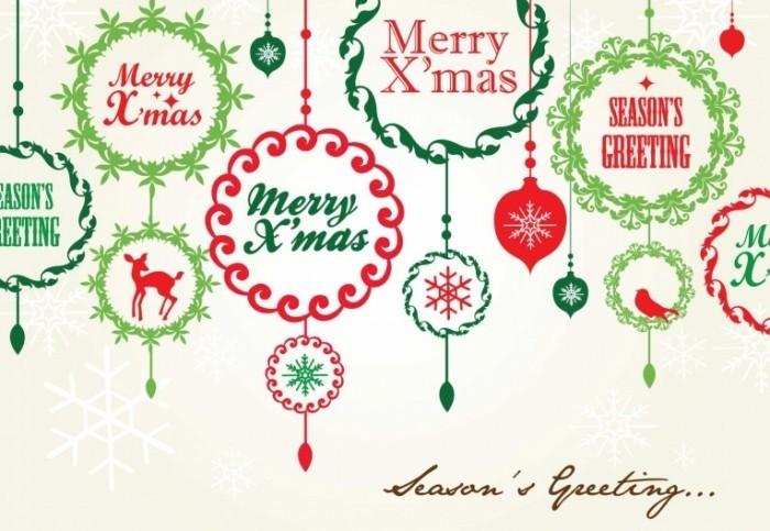 card 700x483 Открытка счастливого рождества   Postcard Merry Christmas