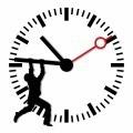 Человек на часах - Man on the clock