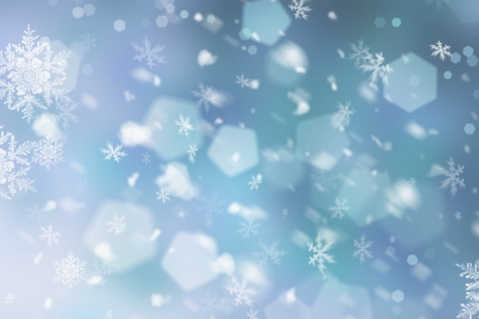 shutterstock 116003758 700x466 Фон из снежинок   Background of snowflakes