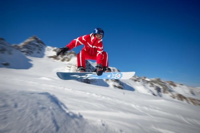 shutterstock 2876489 700x468 Сноуборд зимой   Snowboard winter
