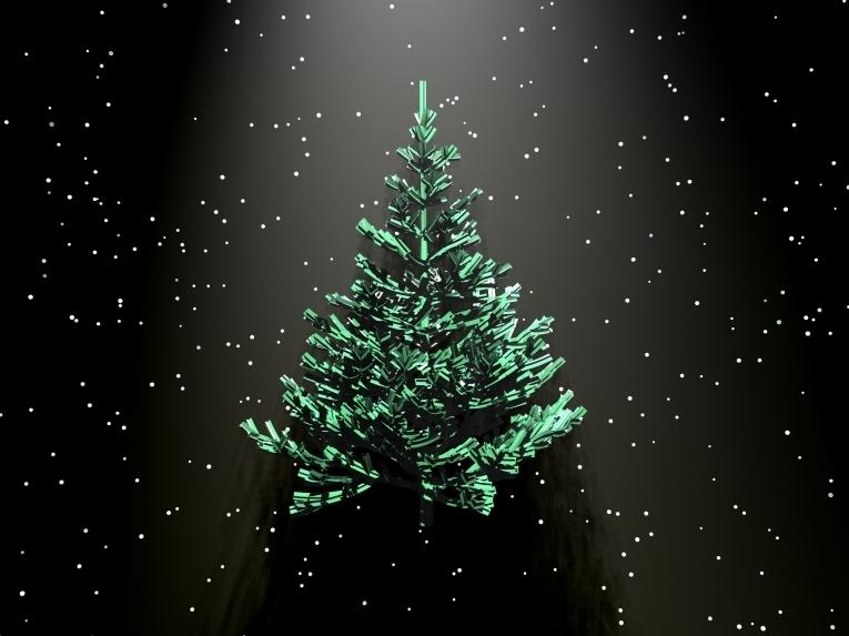 новогодние живые картинки с елками набросок
