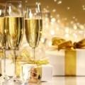 Шампанское и подарок - Champagne and gift