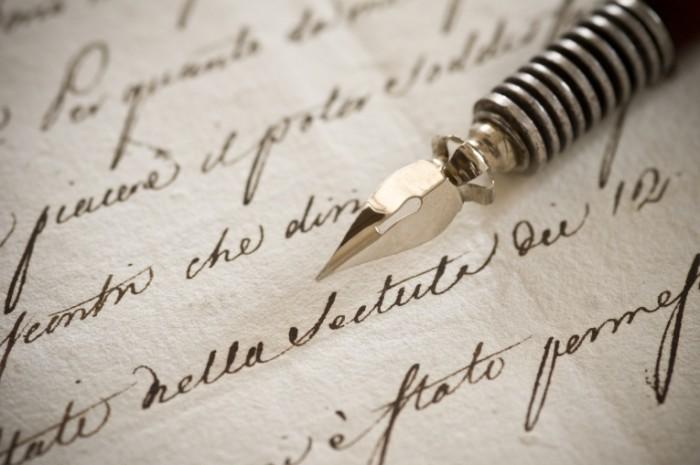 shutterstock 88953376 700x465 Письмо с пером   Letter with a pen