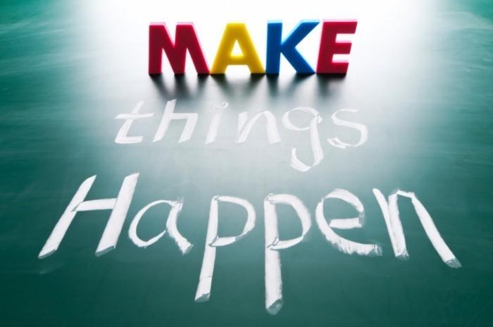 shutterstock 96155630 700x464 Чтобы все произошло   Make things happen
