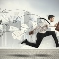 Бизнесмен бежит - Businessman runs