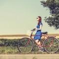Девушка с велосипедом - Girl with bicycle