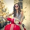 Девушка на мотоцикле - Girl on a motorcycle