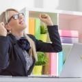 Счастливая бизнес леди - Happy business woman
