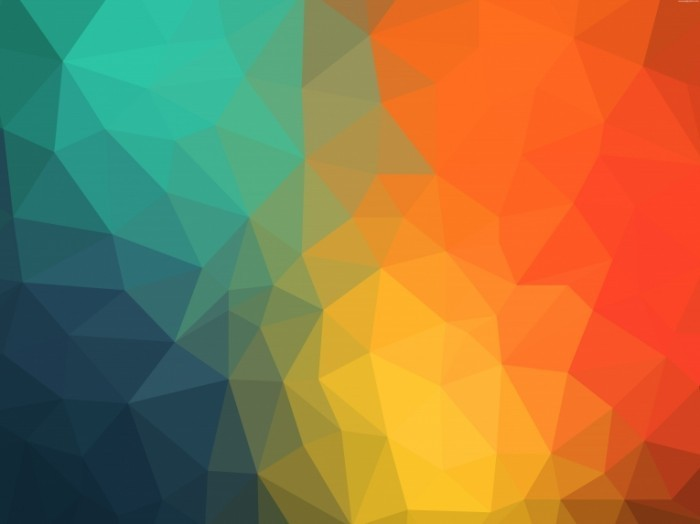 colorful triangles background 700x524 Цветной фон   Colored background