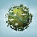 Планета с деревьями - Planet with trees