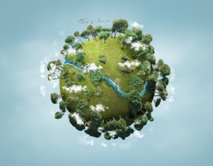 fotolia.com adimas 700x548 Планета с деревьями   Planet with trees