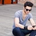 Стильный парень с телефоном - Stylish guy with the phone