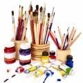 Кисти и краски - Brushes and paints
