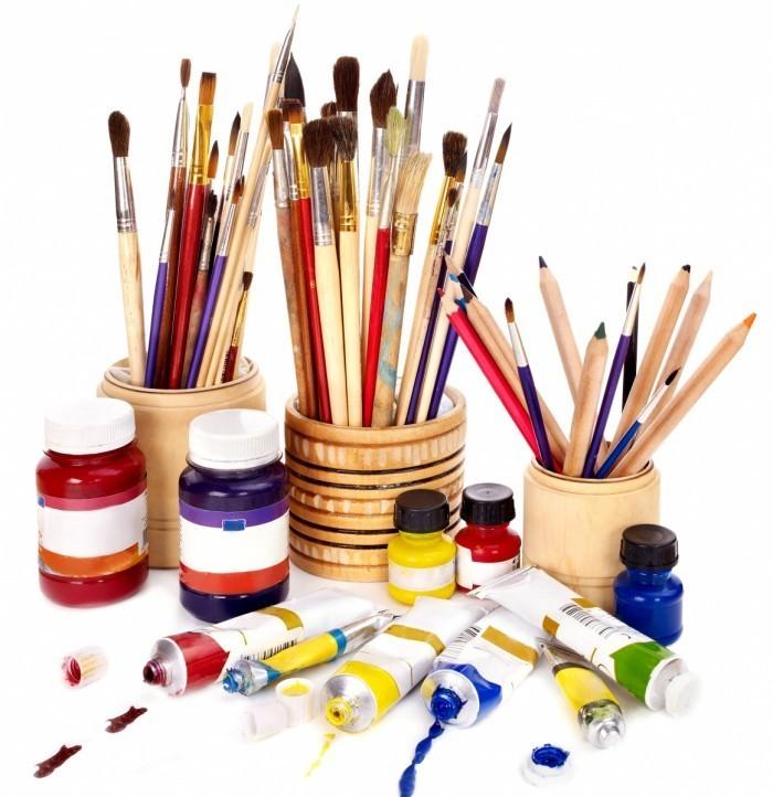 Dollarphotoclub 34639646 700x722 Кисти и краски   Brushes and paints