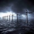 Ветряки в воде - Windmills in the water