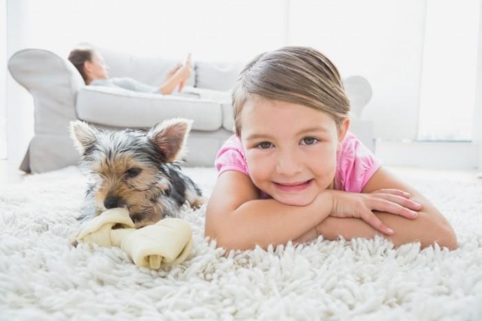 Dollarphotoclub 63011953 700x466 Девочка с собачкой   Girl with Dog