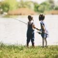 Девочки на рыбалке - Girls fishing