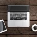 Ноутбук и кофе - Laptop and coffee
