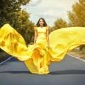 Девушка в желтом платье - Girl in yellow dress