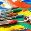 Краски и кисточки - Paints and brushes