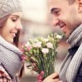 Пара с цветами - Couple with flowers