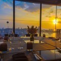 Ресторан в закат - Restaurant in the sunset
