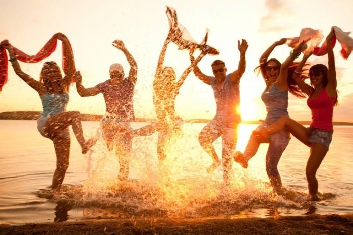 пляжная вечеринка фото