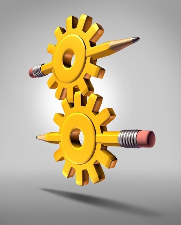 Dollarphotoclub 56415131 700x868 Механизм с карандашом   Mechanism with a pencil