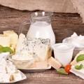 Молочные продукты - Dairy produce