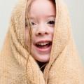 Девочка в полотенце - Girl in towel