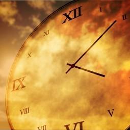 Часы  со циферблатом - Clock with a dial