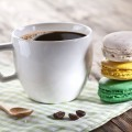 Кофе с макарони - Coffee with macaroon
