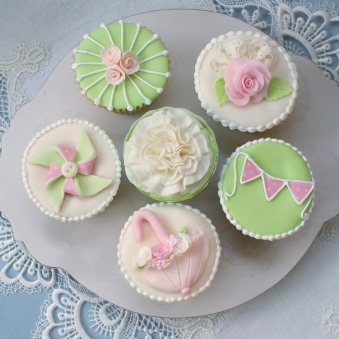 tutorial1 700x700 Пирожные   Cakes