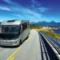 Фургон на дороге - Van on the road