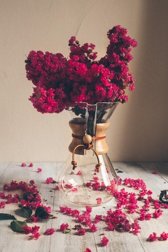 portolese.chemex 682x1024 Цветы в вазе   Flowers in a Vase