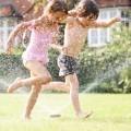 Дети в фонтане - Children in the fountain