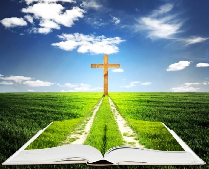 shutterstock 118036702 700x567 Книга с крестом   Book with cross