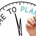 Время планирования - Time plan