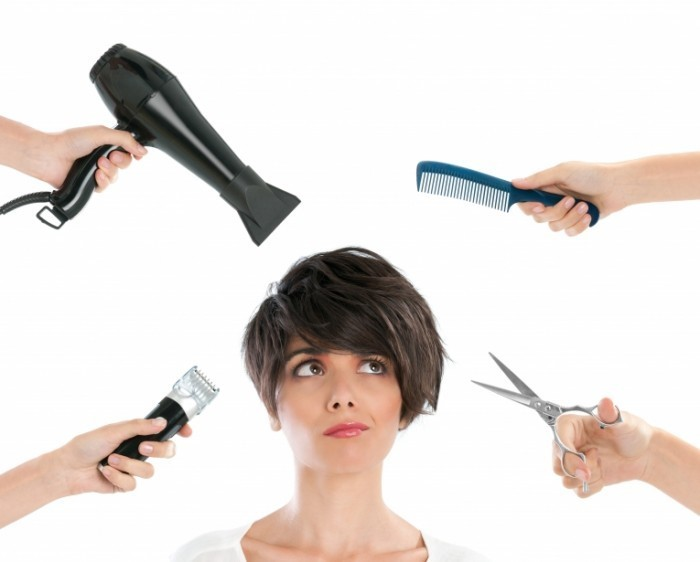 Fotolia 37032176 Subscription Monthly XXL 700x562 Девушка с парикмахерскими инструментами   Girl with hairdressing tools