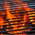 Огонь на гриле - Fire on the grill